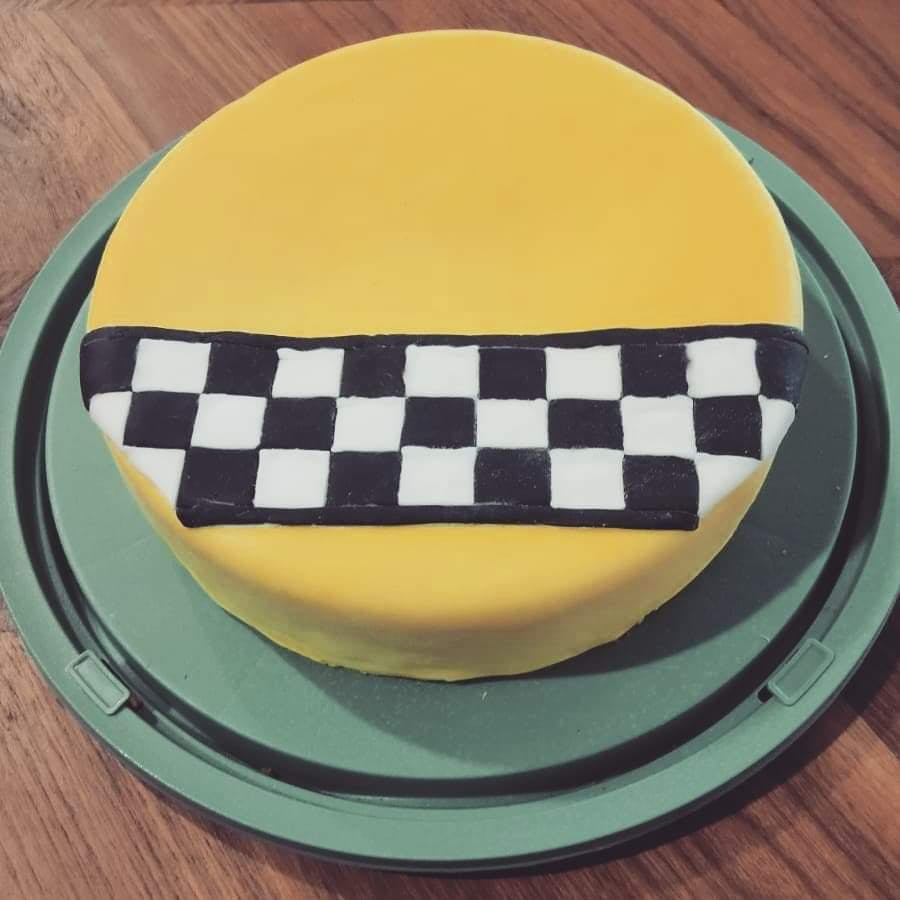 De Shabby Cabs taart