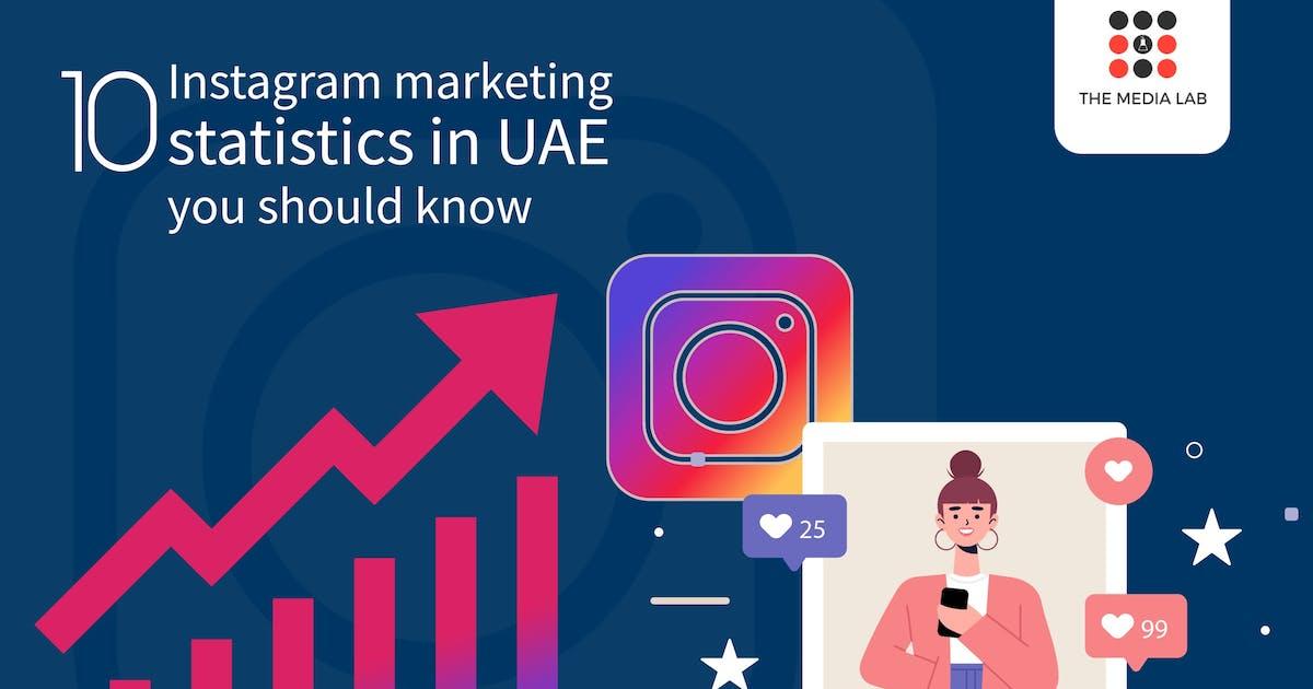 10 Instagram marketing statistics in UAE you should know