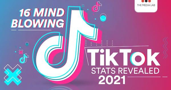 infographic 2021 TikTok stats