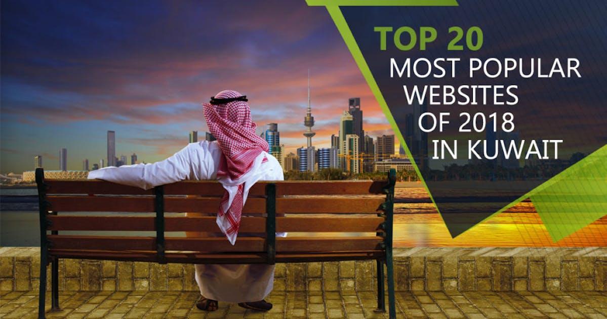20 most popular websites of 2018