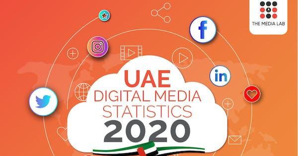 UAE Digital Media Statistics 2020