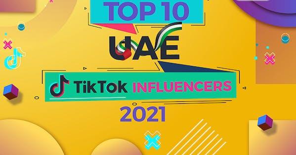 top 20 UAE tiktok Influencers 2021