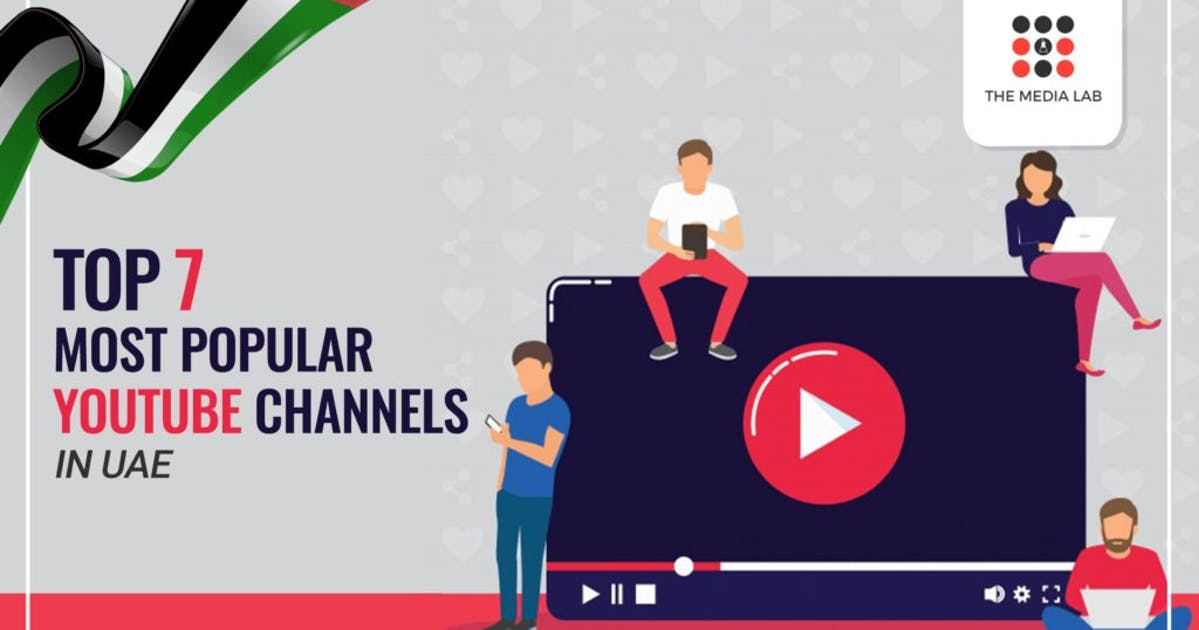 top 7 most popular Youtube channel in UAE