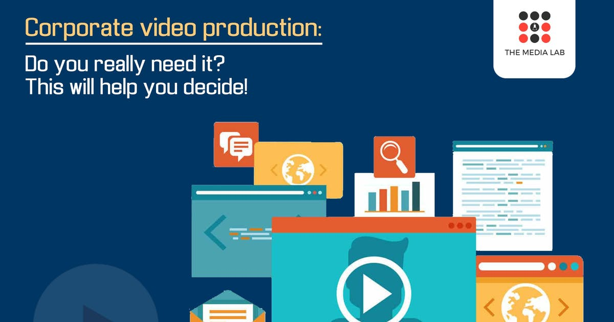 Corporate Video Production: Do you really need it?