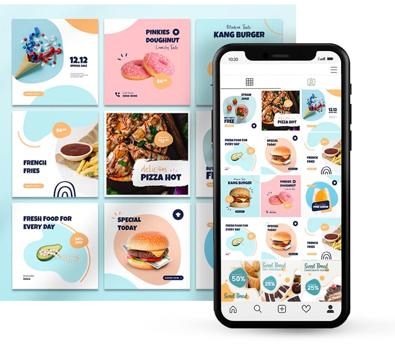 social media agency dubai content design