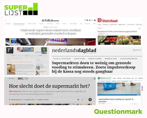 An overview of our coverage can be found on our Dutch website