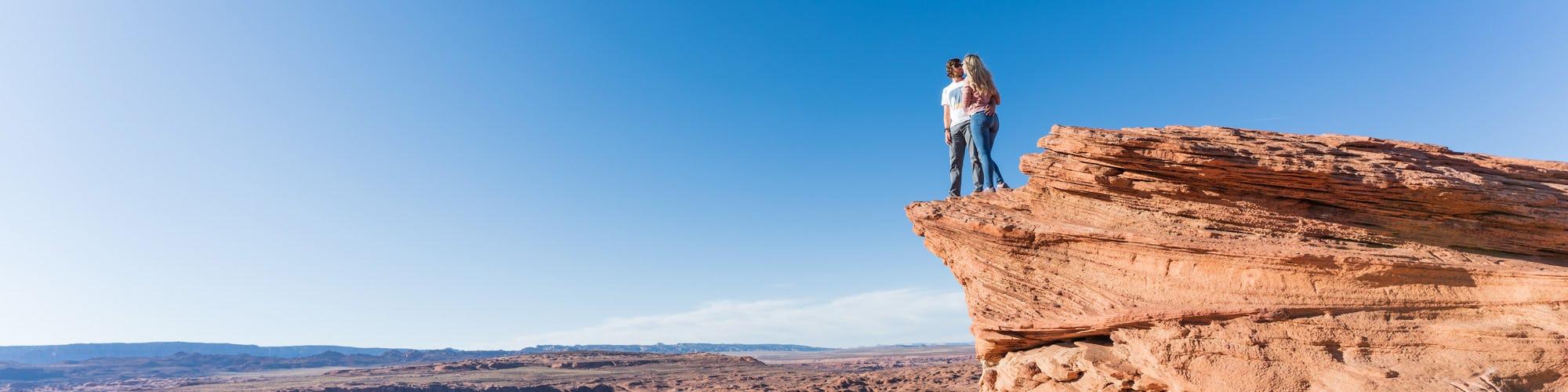 Jess and Marcus at Horseshoe Bend, AZ