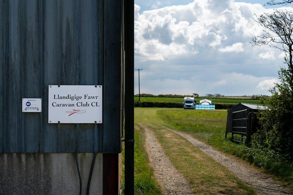 Llandigige Fawr CL - The Caravan and Motorhome Club