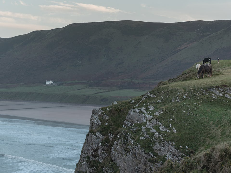 Rhosilli in the Gower, South Wales