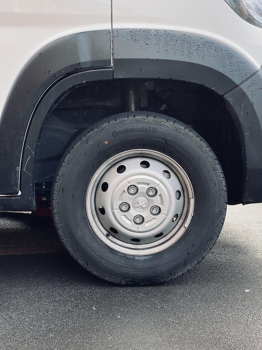 The standard Peugeot Boxer Wheels