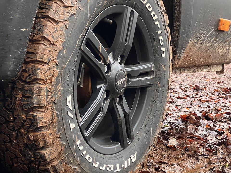 All terrain van tyres BFG KO2