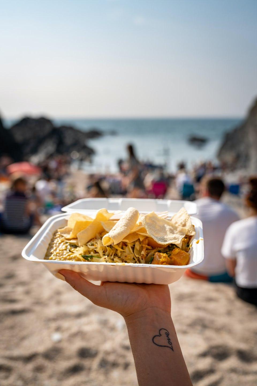 Curry at Barricane Beach Cafe