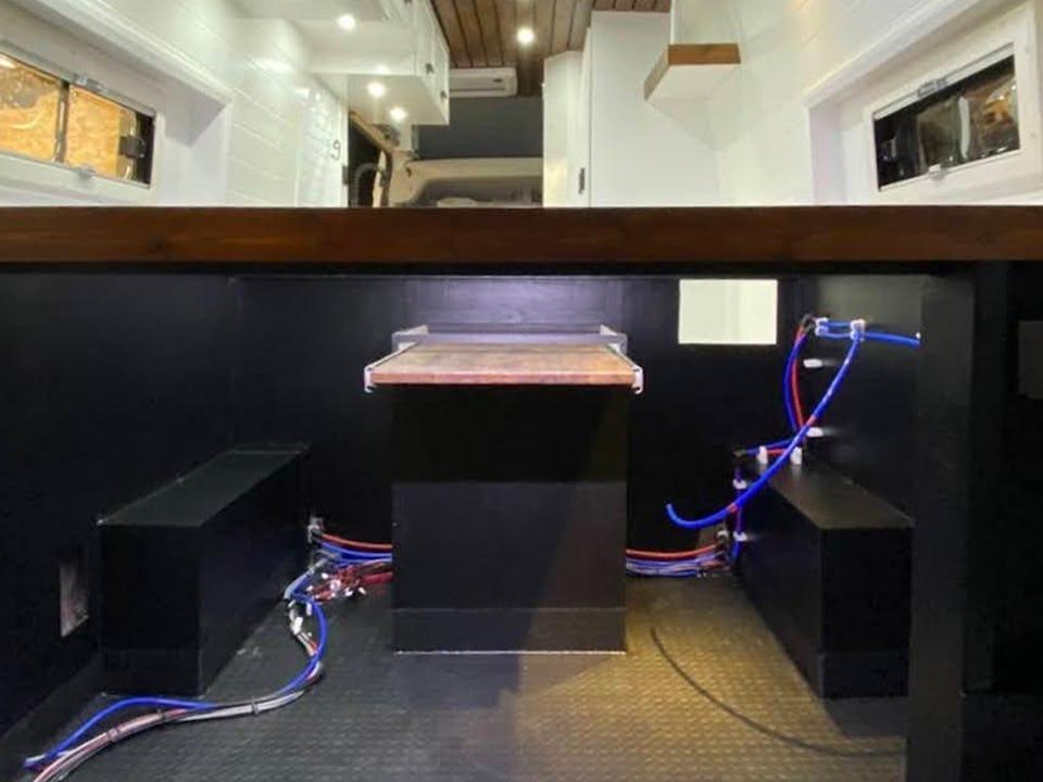 Van conversion electrical system