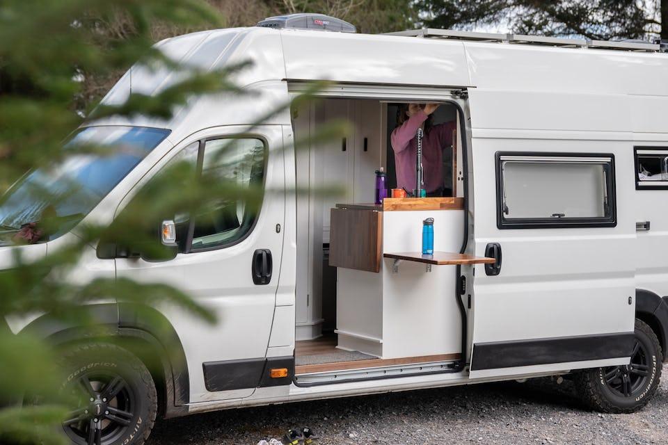 Our van conversion