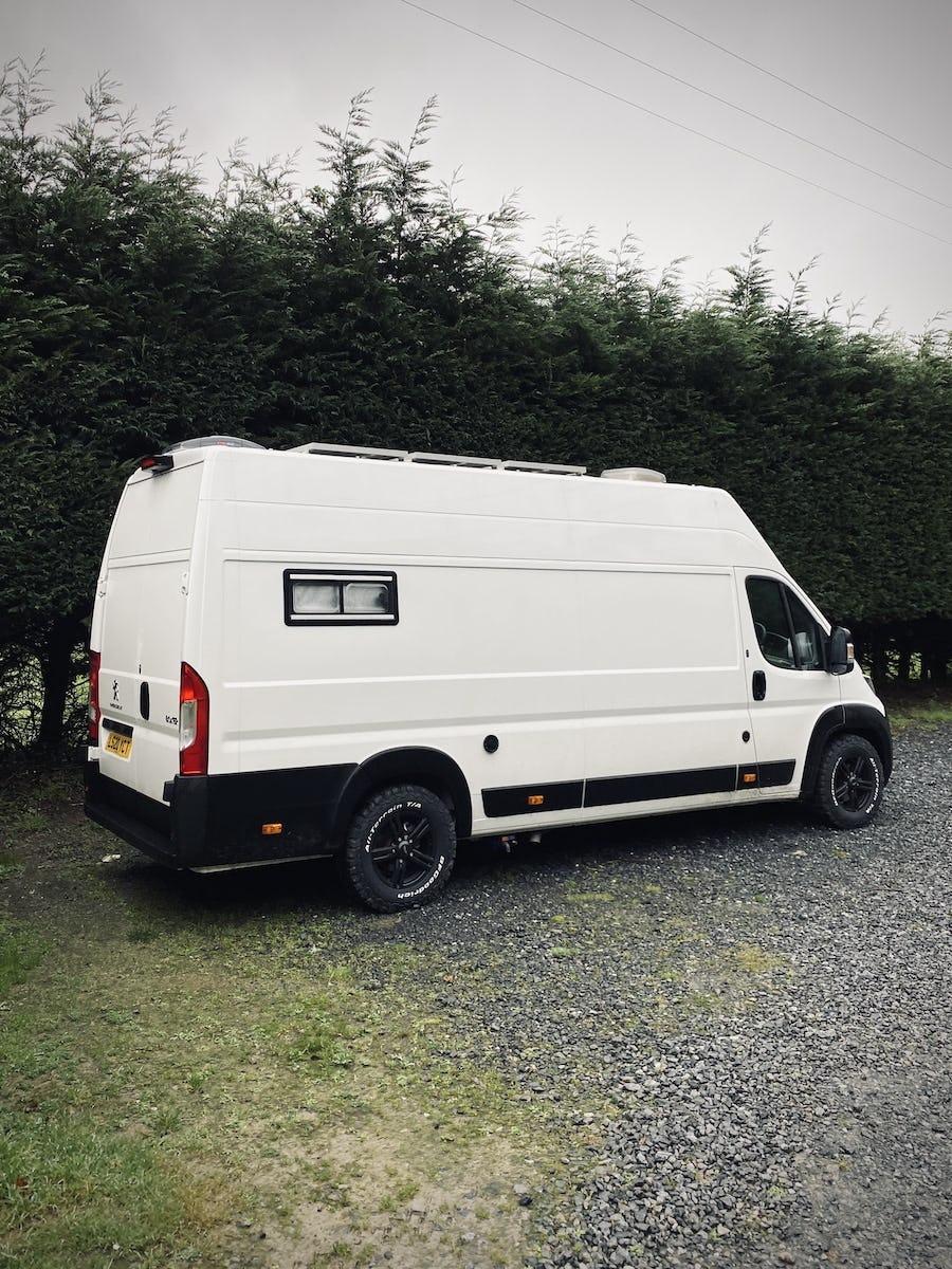 BFG KO2 tyres on our van