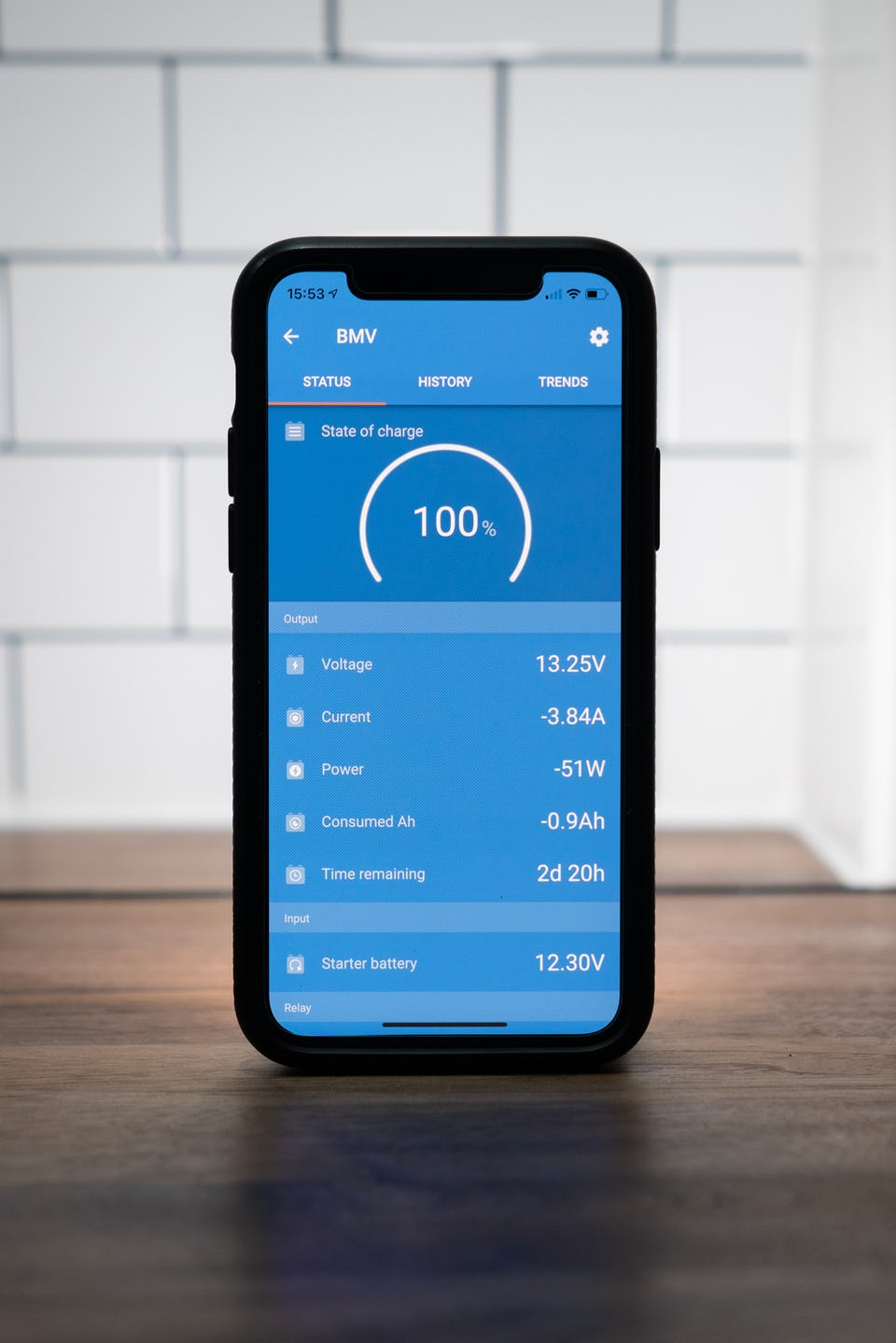 Victron energy bluetooth app