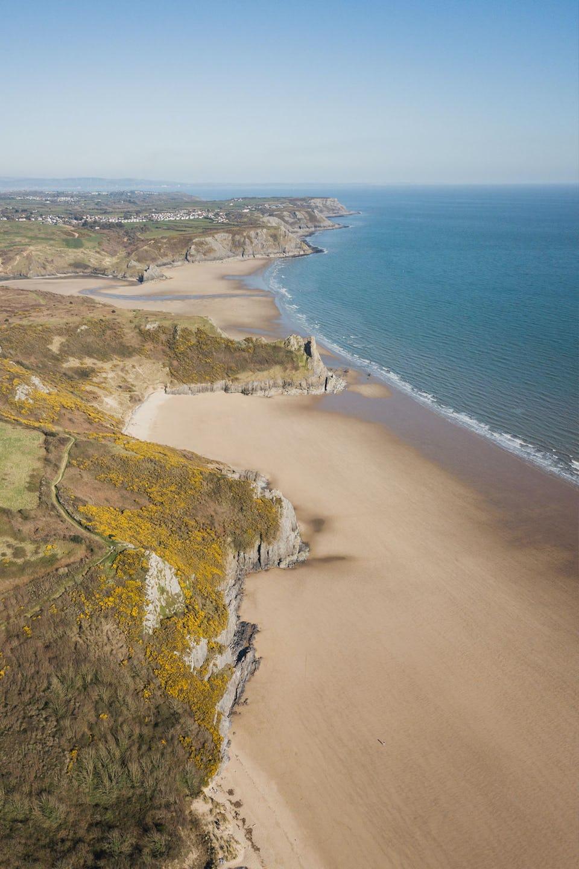 Three Cliffs bay in the Gower