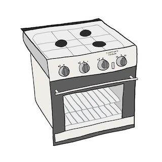 Thetford Triplex Oven
