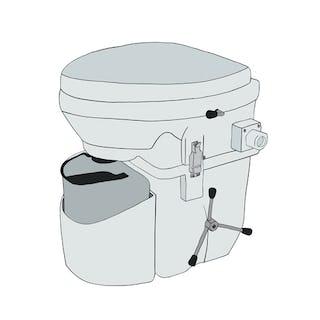 Natures Head Compost Toilet