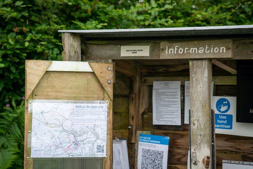 Steadway Farm CL - Exmoor - Map