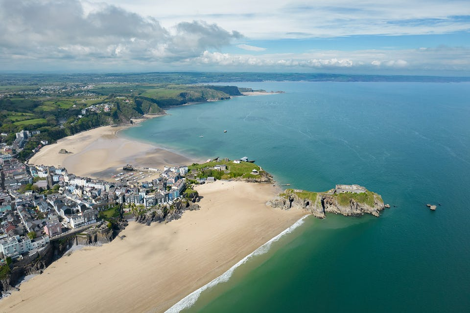 Tenby North and South Beaches