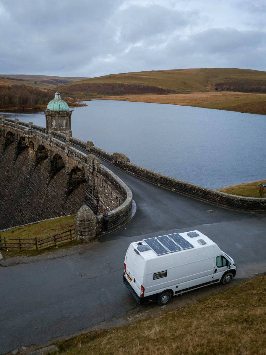 Biggie Small parked up on the dam