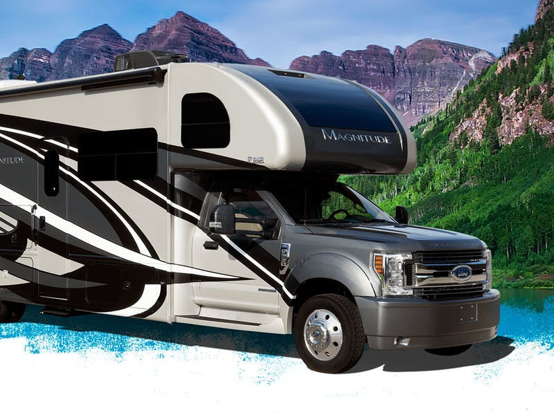 Thor Motor Coach Reveals Outdoor Adventurer 4WD Magnitude SV34 at RVX
