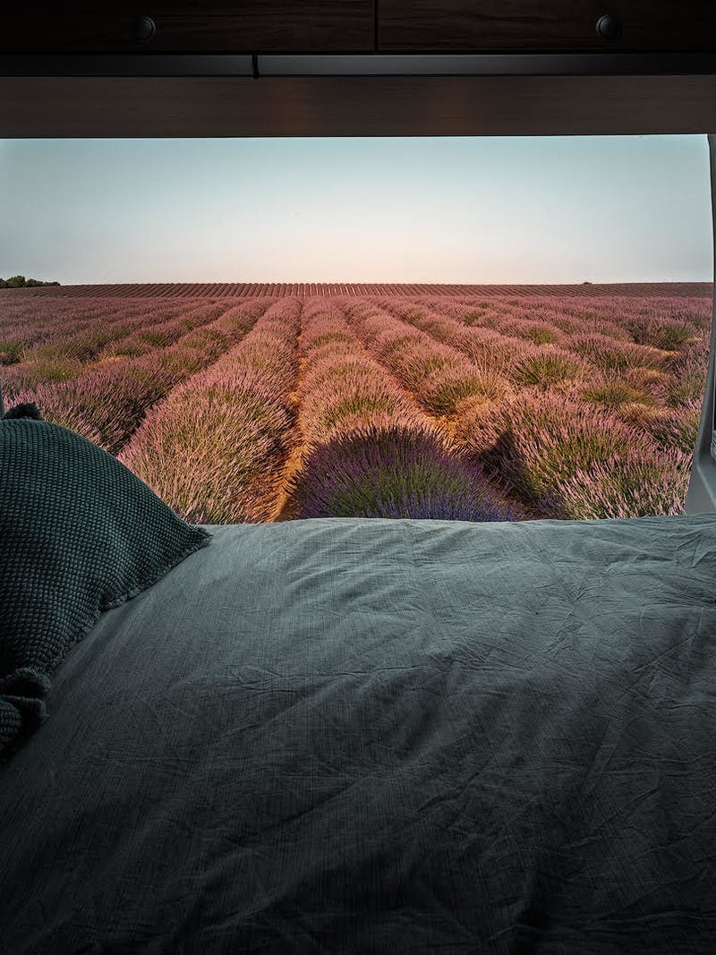 Window to Valensole, France