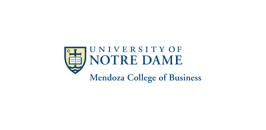 University of Notre Dame Mendoza College of Business Logo