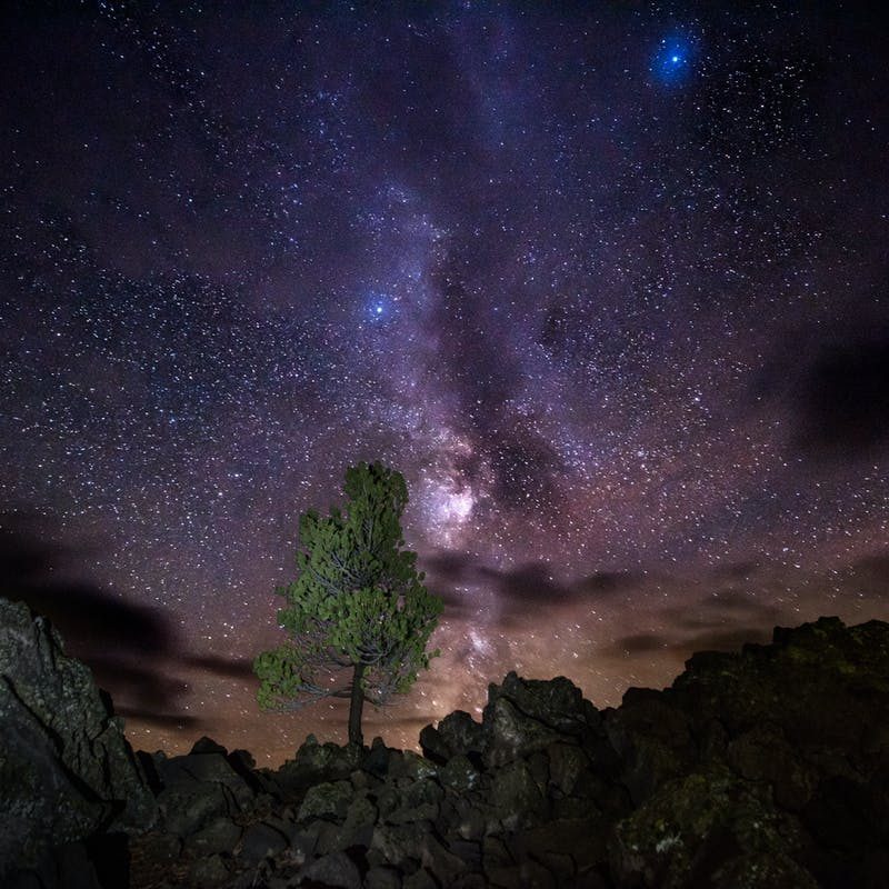 Milky Way at Craters of the Moon National Monument