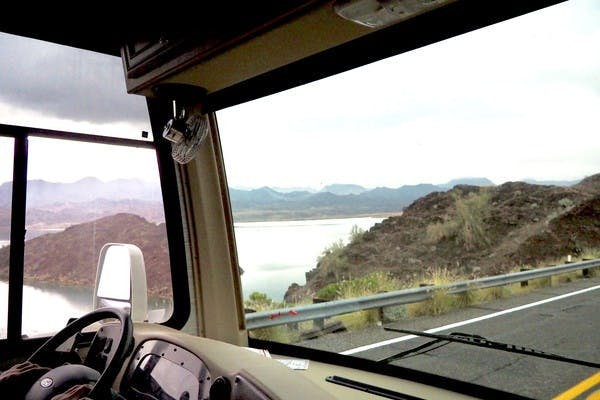 Window to Lake Havasu, Arizona
