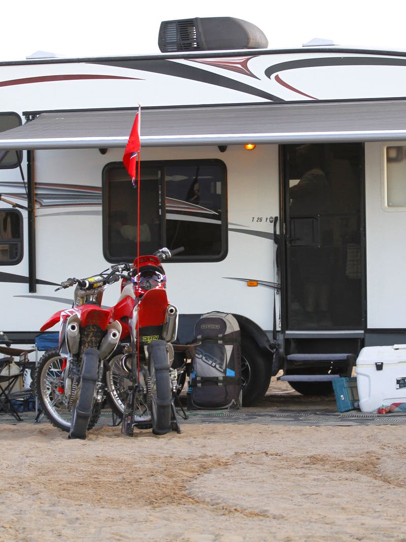 How to Plan a Boondocking Trip for Dirt Biking