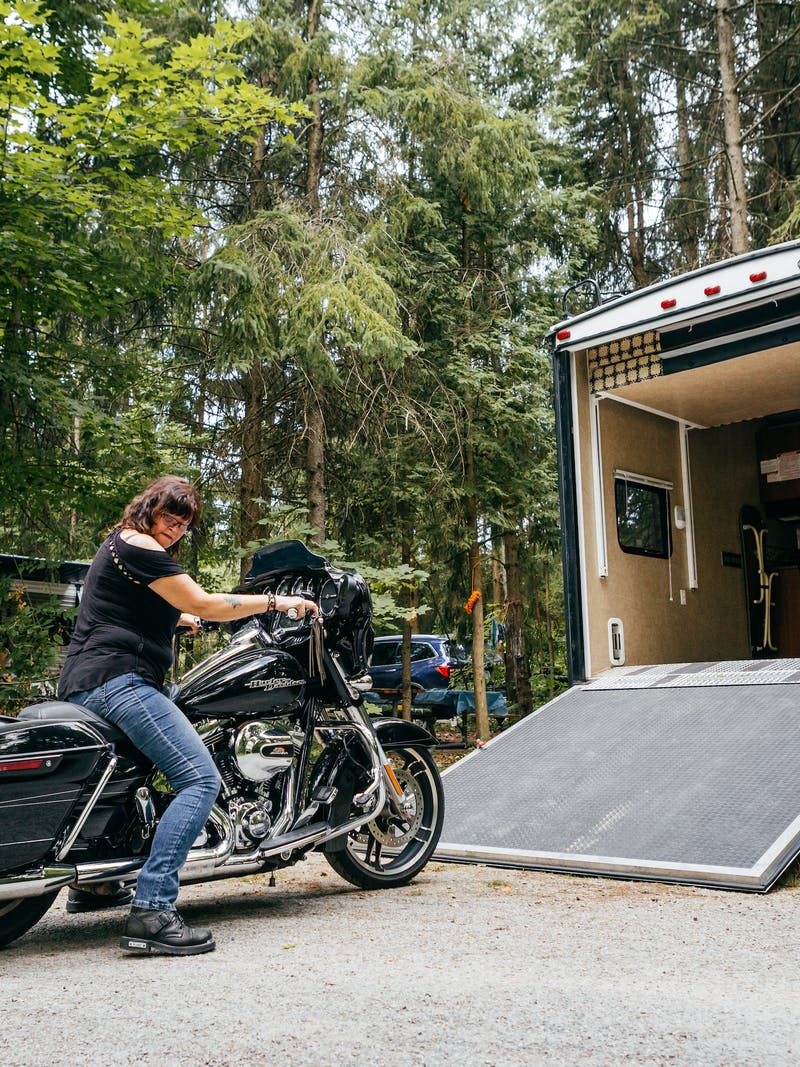 Finding Freedom on a Motorcycle RV Trip
