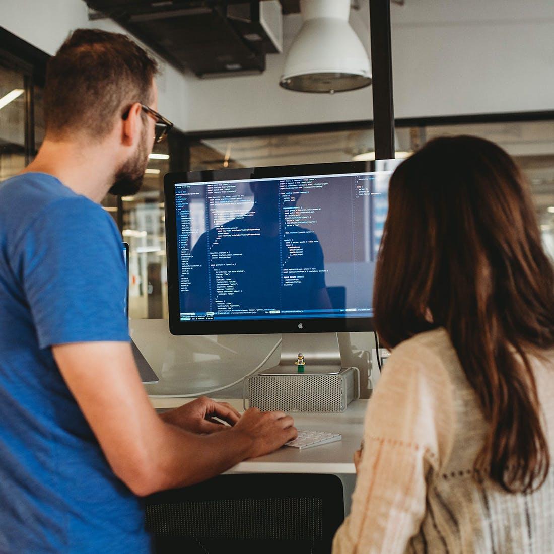 Dev ops engeneers working on a cloud migration