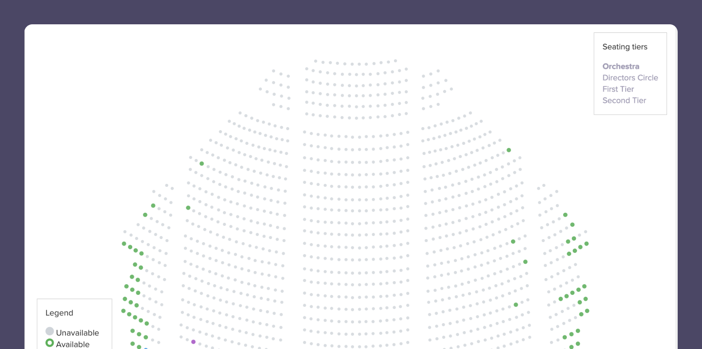 An image of the seating design interface against a dark purple background.