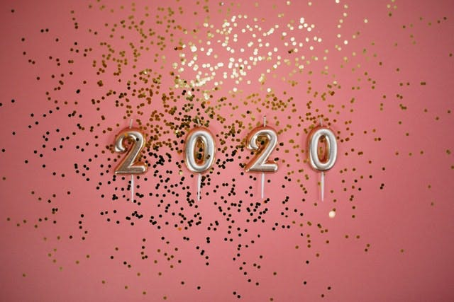 2020 candles