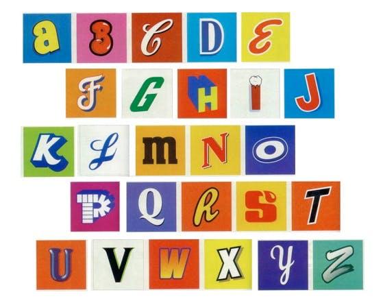 graphic alphabet
