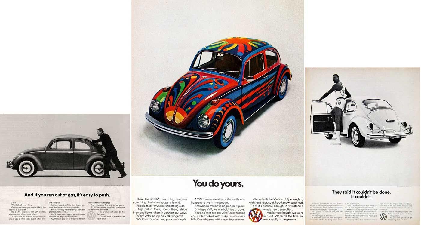 Volkswagon's Think Small campaign ad