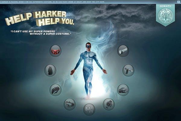 help harker help you superhero