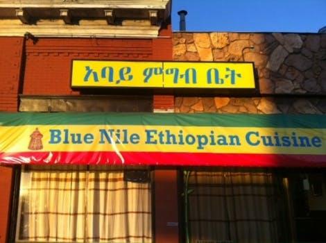 blue nile Ethiopian cuisine