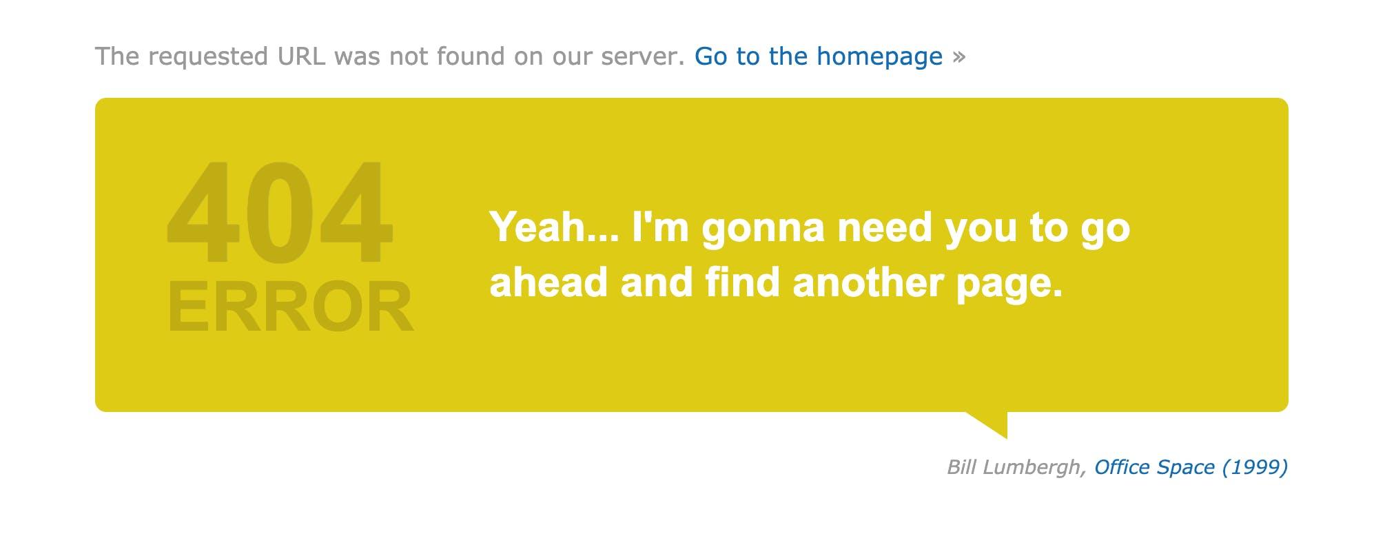 imdb 404 page
