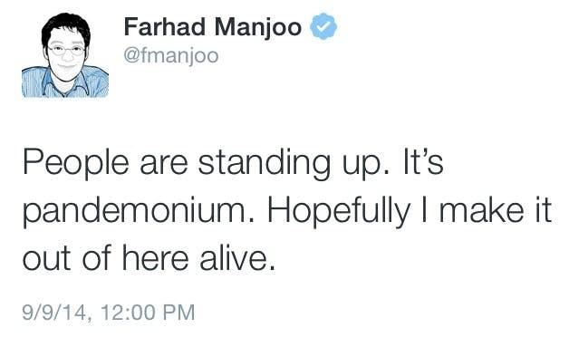 Farhad Manjoo twitter account