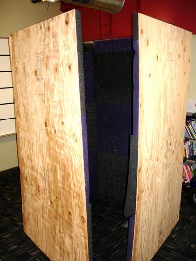 Soundbooth Set-up Part 3