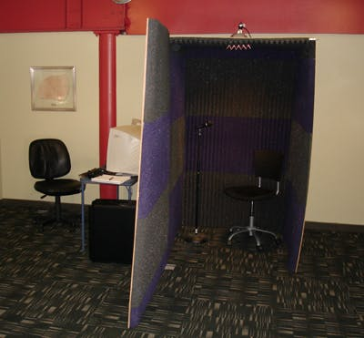 Soundbooth Completed