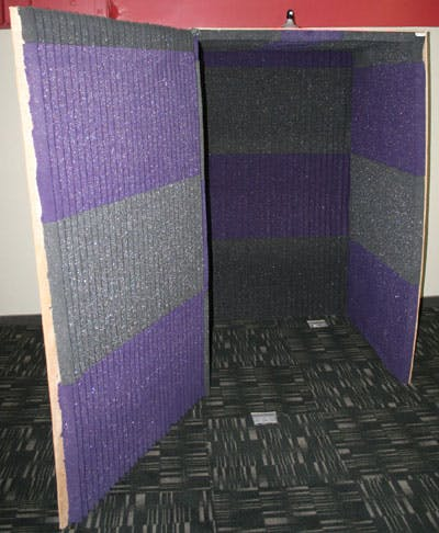Soundbooth Interior