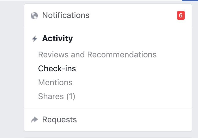 see who checks into your facebook business page