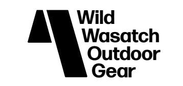 wasatch outdoor gear logo concept