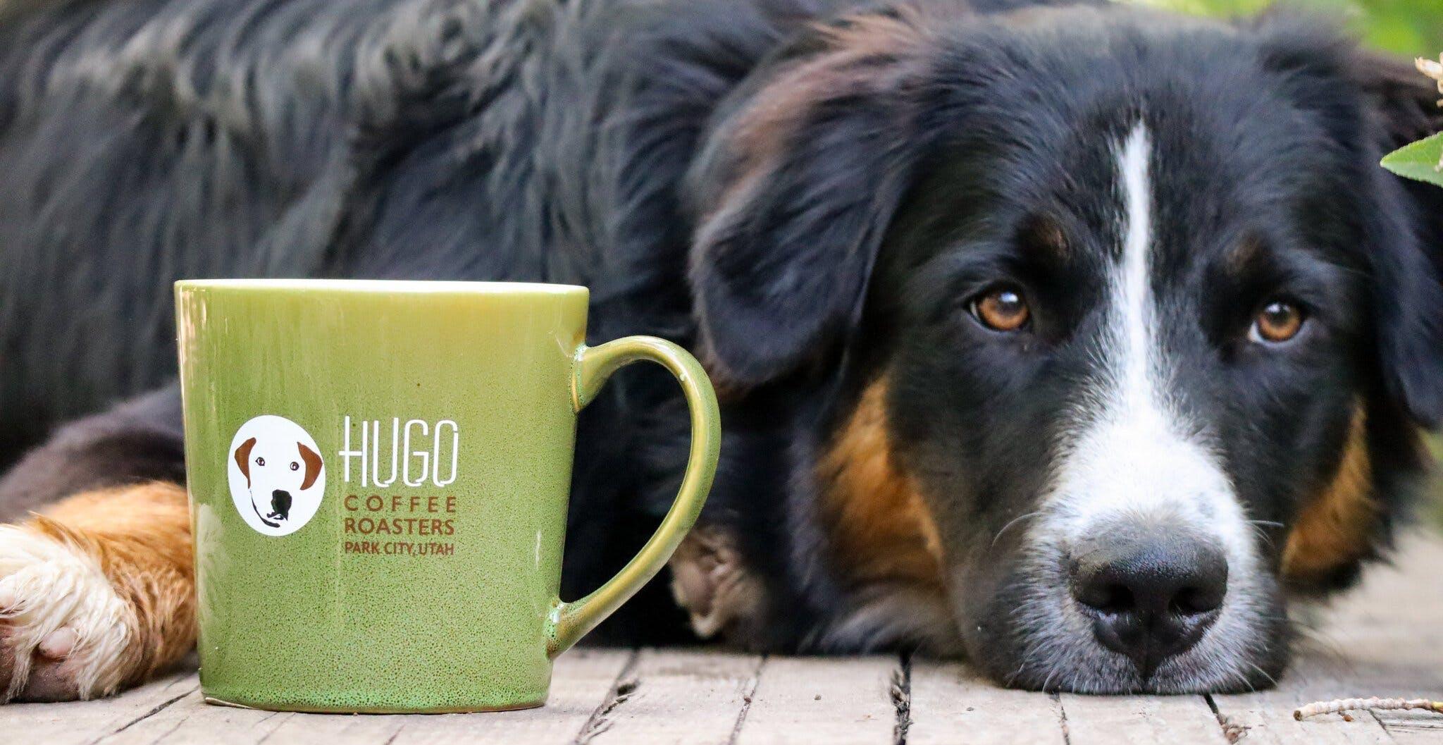 hugo coffee cup
