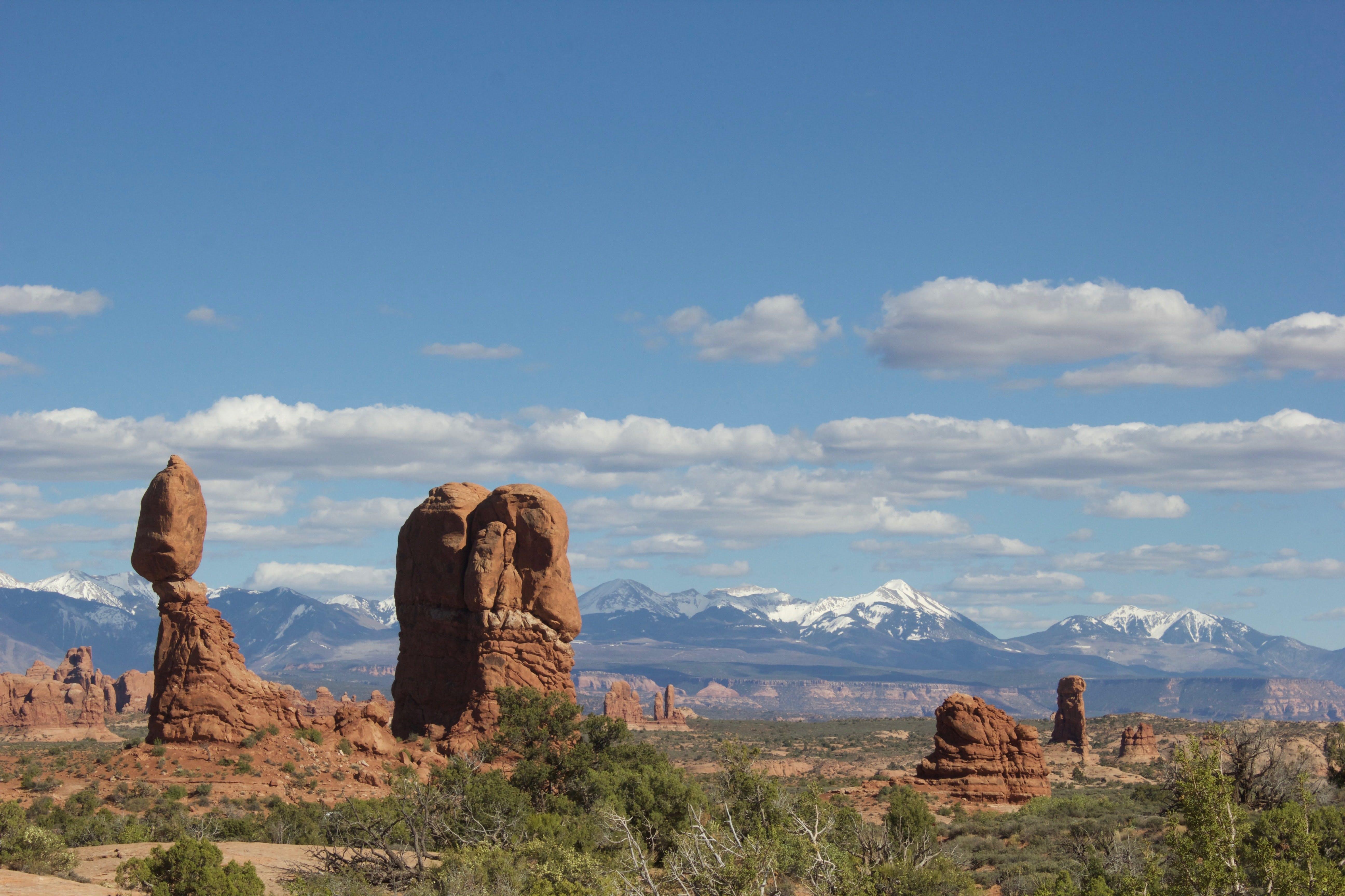 Moab balance rock