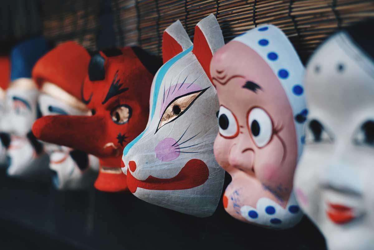 Traditional Japanese Masks